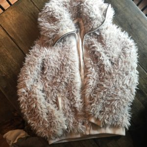 Faux Fur Johnston & Murphy Winter Coat